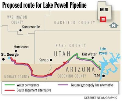 lake-powell-pipeline-route